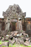 Wat phu champasak temple ruins, laos Royalty Free Stock Image