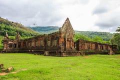 Wat Phu eller Vat Phou Royaltyfri Fotografi