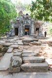 Wat Phu jest UNESCO światowego dziedzictwa miejscem w Champasak Zdjęcie Stock