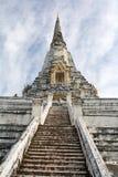 Wat Phu Khao Thong, Ayutthaya Stock Photo