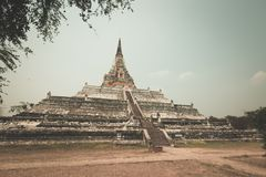 Wat Phu khao Thong Royalty Free Stock Photography