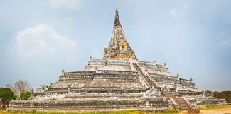 Wat Phu khao Thong Stock Photography