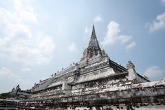 Wat Phu Khao Zapfen Lizenzfreies Stockfoto