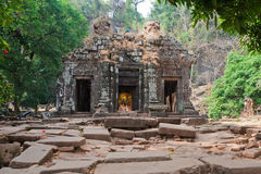 Wat Phu Khmer temple in Laos Stock Photos