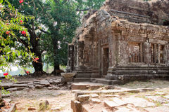 Wat Phu Khmer temple in Laos Royalty Free Stock Photos