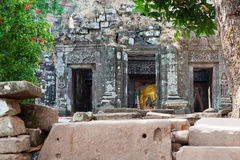 Wat Phu Khmer temple in Laos Stock Image