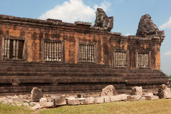 Wat Phu Khmer temple in Laos Stock Photo