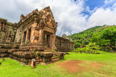 Wat Phu oder Bottich Phou stockfotos