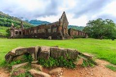 Wat Phu ou cuve Phou Photo libre de droits