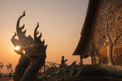 Wat Phu Prao ή Wat Siridhornwararam σε Ubonratchathani, Ταϊλάνδη στοκ εικόνες