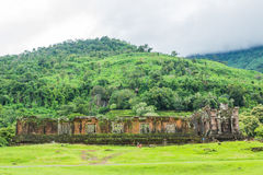 Wat Phu sanctuary Stock Image