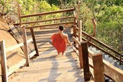Wat Phu Tok en la provincia de Bungkan, Tailandia imagenes de archivo