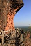 Wat Phu Tok i det Bungkan landskapet, Thailand Arkivfoto