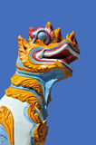 Coloured Animal at Wat Phuak Hong Royalty Free Stock Photography