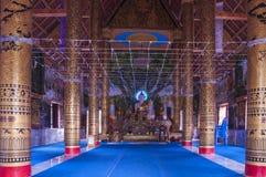 Wat Phuket Nan, Thailand Arkivfoto