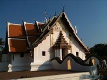 Wat Phumin佛教寺庙在南,泰国 库存照片