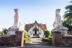 Wat Phumin,南,泰国 免版税图库摄影