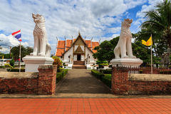 Wat Phumin, Muang区,楠府,泰国 寺庙是一个公共场所 创造100岁 免版税库存图片