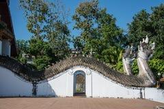 Wat Phumin è un tempio tradizionale tailandese unico nella provincia di Nan Fotografia Stock Libera da Diritti
