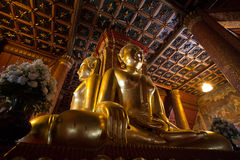 WAT PHUMIN - THE 4 BACK CONECTING BUDDHAS Stock Photography