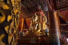 WAT PHUMIN - BUDDHAS Royalty-vrije Stock Fotografie