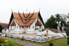 Wat Phumin. On a cloudy day Royalty Free Stock Images
