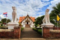 Wat Phumin, distrito de Muang, Nan Province, Tailândia O templo é um lugar público Criado sobre 100 anos velho Fotos de Stock Royalty Free