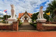 Wat Phumin, distrito de Muang, Nan Province, Tailândia O templo é um lugar público Criado sobre 100 anos velho Imagem de Stock Royalty Free