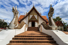 Wat Phumin, distrito de Muang, Nan Province, Tailandia El templo es un lugar público Creado durante 100 años Fotografía de archivo