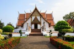 Wat Phumin, distrito de Muang, Nan Province, Tailandia El templo es un lugar público Creado durante 100 años Foto de archivo libre de regalías