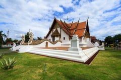 Wat Phumin, distrito de Muang, Nan Province, Tailandia El templo es un lugar público Creado durante 100 años Foto de archivo