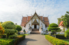 Wat phumin famous lanna style temple at nan province thailand Stock Photography