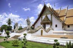 Wat Phumin nella città di Nan Fotografie Stock