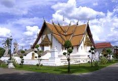 Wat Phumin nella città di Nan Fotografie Stock Libere da Diritti