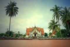 Wat Phumin o Phu Min Temple, il tempio antico famoso a Nan Immagini Stock