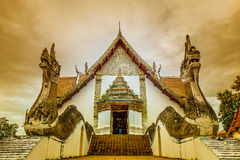 Wat Phumin temple at Nan , Thailand Royalty Free Stock Images