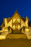 Wat Phumin Temple At Night Royalty Free Stock Images