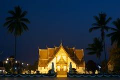 Wat Phumin Temple At Night Stock Images