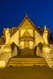 Wat Phumin Temple At Night Royalty Free Stock Image