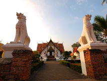 Wat Phumintr, città di Nan, Tailandia immagini stock
