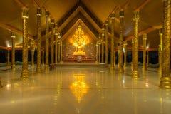 Wat phuproud. Ubon ratchathani thailand Stock Photo