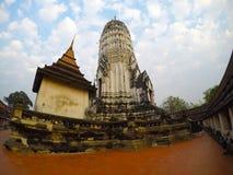 Wat Phutthaisawan在阿尤特拉利夫雷斯,泰国 库存图片