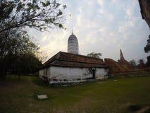 Wat Phutthaisawan在阿尤特拉利夫雷斯,泰国 免版税图库摄影