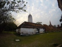 Wat Phutthaisawan i Ayutthaya, Thailand royaltyfri fotografi