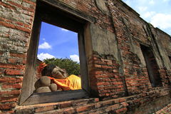 Wat Phutthaisawan Temple, parc historique d'Ayutthaya, Thaïlande Photo stock