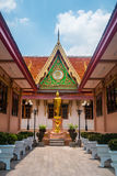 Wat Pichai Songkram tempel i Ayutthaya, Thailand Royaltyfri Bild