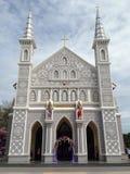Wat Plaeng Church bei Ratchaburi Lizenzfreies Stockbild