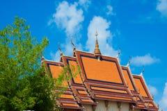 Wat Plai Laem寺庙 库存照片