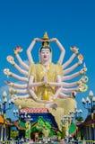 Wat Plai Laem 免版税图库摄影