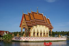 Wat Plai Laem Photos libres de droits